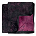 Bocasa Lace Woven Throw Blanket