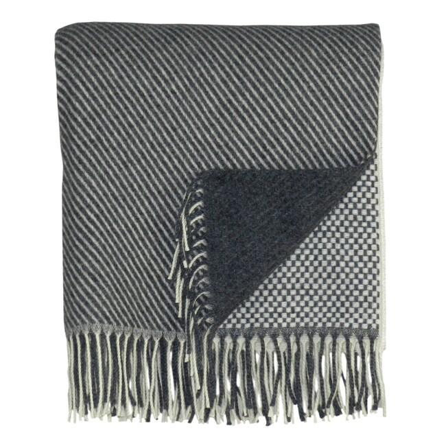 Bocasa Quadro Woven Cashmere Blanket