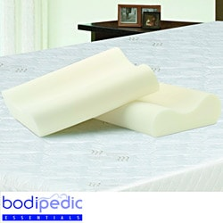 Bodipedic Essentials Contour Memory Foam Pillows (Set of 2)