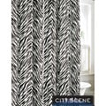 CIty Scene Safari Cotton Shower Curtain