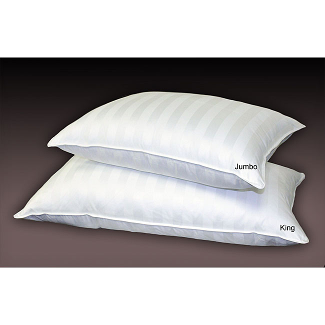 Cabana Stripe 800 Thread Count Down Alternative Pillows (Set of 2)