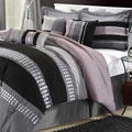 Castle Rock Grey 12-piece Bed In a Bag with Sheet Set