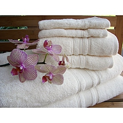 Charisma Ivory Cream Premium Hygro Cotton 18-piece Bath Towel Set