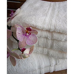 Charisma Ivory Cream Premium Hygro Cotton 24-piece Bath Towel Set