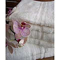 Charisma Ivory Cream Premium Hygro Cotton 24-piece Towel Set
