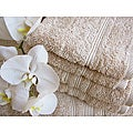 Charisma Linen Beige Premium Hygro Cotton 24-piece Bath Towel Set
