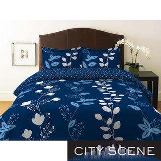 City Scene Garden Trellis Full/ Queen-size Duvet Cover Set
