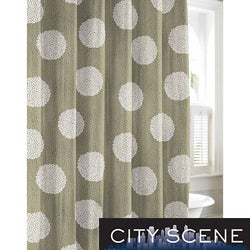 City Scene Raindance Cotton Shower Curtain