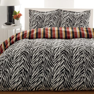 City Scene Safari 3-Piece Comforter Set