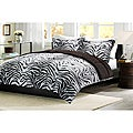 Comfort Classic Zebra King-size Down Alternative Comforter and Sham Set