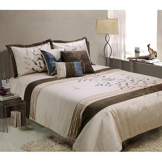 Gwynth 7-piece King-size Comforter Set