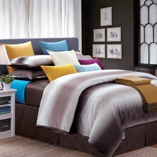 Mocha Galaxy King-size 8-piece Cotton Comforter Set