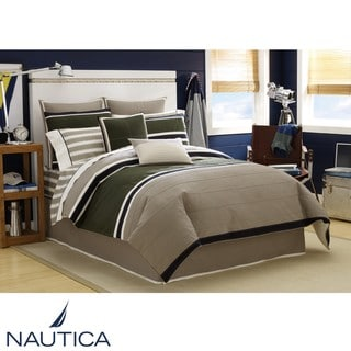 Nautica Duxbery King Size 4 Piece Comforter Set Overstock Shopping Great Deals On Nautica