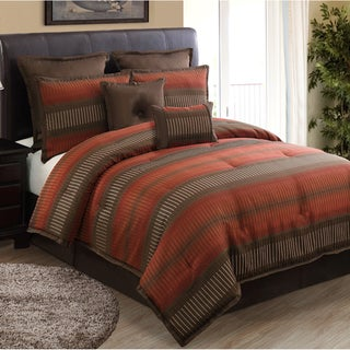 Russell Rust 8-piece Comforter Set