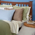 Cotton Rich Sateen 600 Thread Count Wrinkle-resistant Pillowcases (Set of 2)