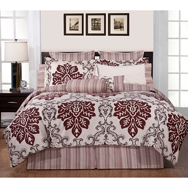 Country Ridge Queen-size 8-piece Comforter Set