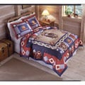 Cowboy Applique 3-piece Quilt Set