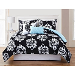 Dalton 5-piece Reversible Comforter Set