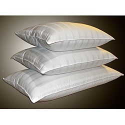 Damask Windowpane 310 Thread Count Down Pillow