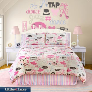 Dance Princess 4-piece Queen-size Comforter Set