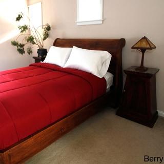 Easy Care Microfiber Down Alternative Color Comforters
