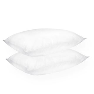 Home Accents Firm Support Density Down Alternative Jumbo-size Pillow (Set of 2)