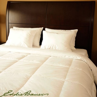 Eddie Bauer 600 Fill Power White Goose Down Comforter