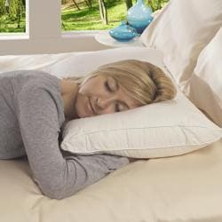 Down-like 312 Thread Count Stomach Sleeper Queen-size Down Alternative Pillow