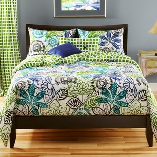 Bali Reversible California King-size 6-piece Duvet Cover Set