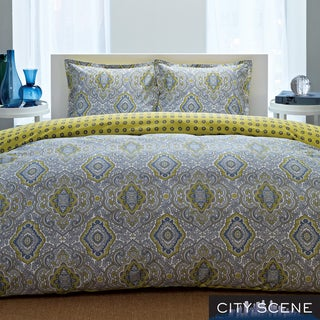 City Scene Milan 3-piece Duvet Cover Set
