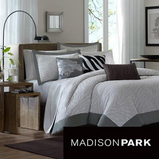 Madison Park Sasha 6-piece Duvet Cover Set