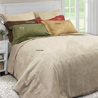 Microsuede 3-piece Duvet Cover Set