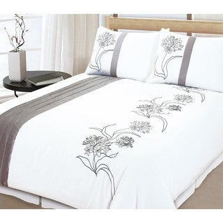 Wexford 3-piece King-size Duvet Cover Set