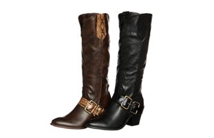 Enigma Women's 'BC 383' Harness Buckled Boots