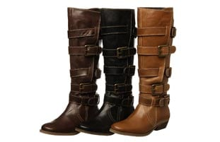 Diba Women's 'Catch Up' Buckled Riding Boots