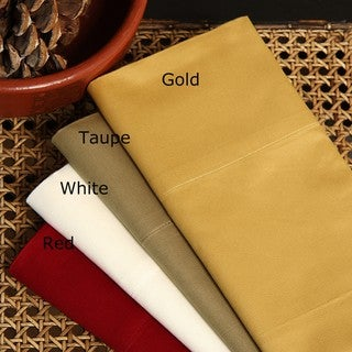Egyptian Cotton Sateen 400 Thread Count 6-piece Sheet Set