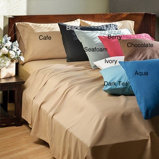 Elegance Microfiber Twin-size Sheet Set