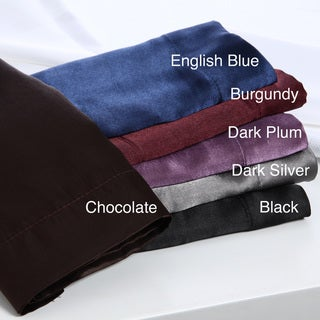 'Elegant Style' 6-piece Satin Sheet Set