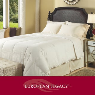 European Legacy Luxury German Batiste White Down Comforter