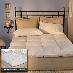 Extra Support True Baffle Box Featherbed Set