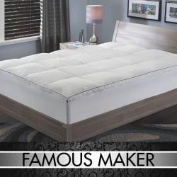 Famous Maker 300 Thread Count Queen/ King-size Featherbed