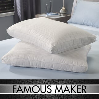 Famous Maker Lyocel Blend Down Alternative Pillows (Set of 2)