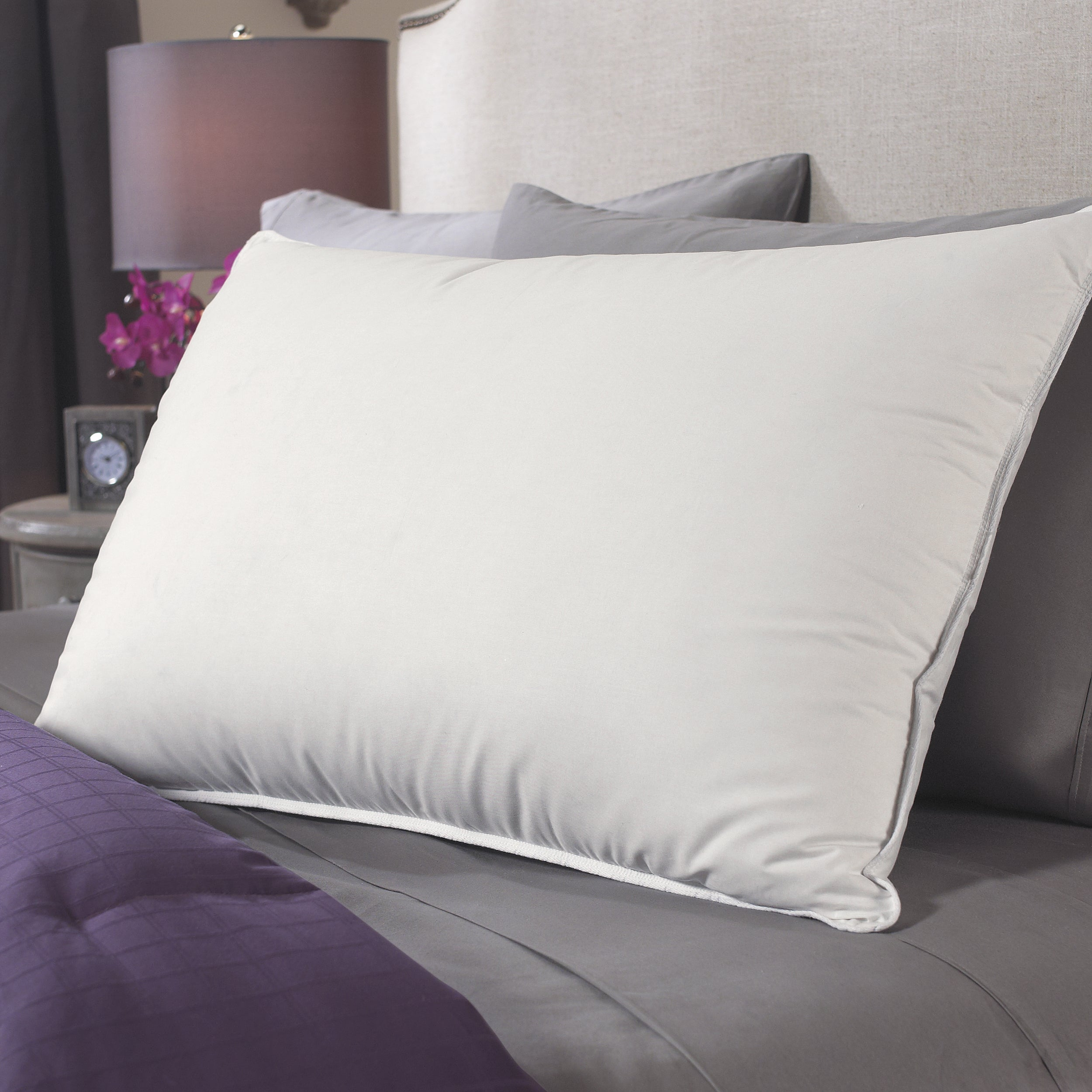 Famous Maker Natural Support White Down Pillow