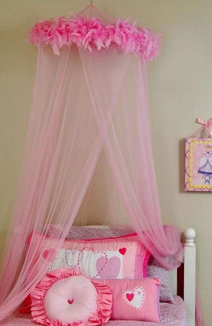 Feather Boa Mosquito Net Canopy at Sears.com