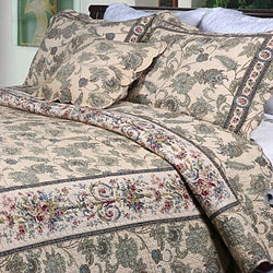 Florence Full/ Queen-size 3-piece Quilt Set