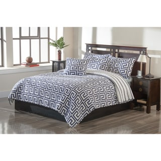 Greek Key 3-piece Quilt Set