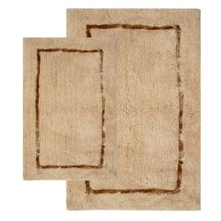 Greenville Sand 2-Piece Bath Rug Set