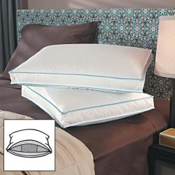 Gusseted Microfeather Enhanced Support Pillows (Set of 4)