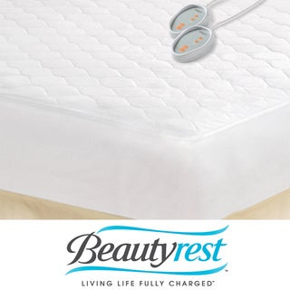 Beautyrest California King-size Heated Electric Mattress Pad