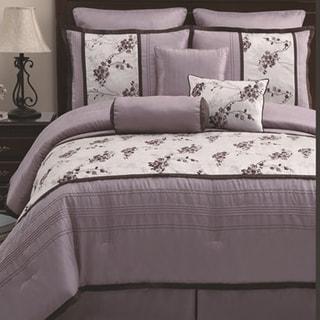 Heather Lilac 8-piece Comforter Set